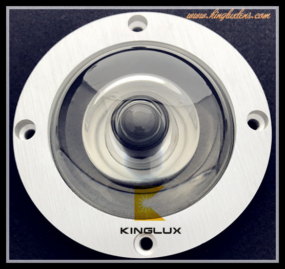 78mm 160 degree optical led Glass lens for led high bay lighting