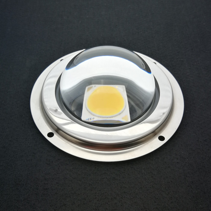 92mm led grow light glass lens 90degree